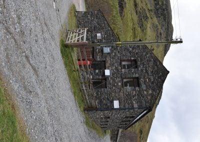 Hostel from gate end 1 - portrait