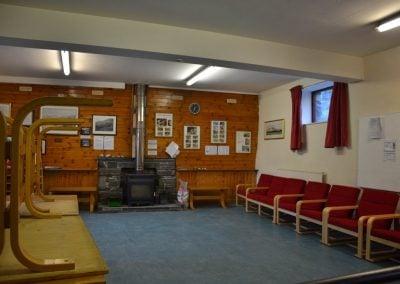 Lounge area cleared